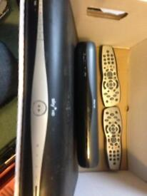 Sky Hd boxes and Remotes