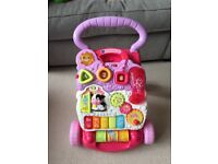 Pink Vtech First Steps Baby Walker