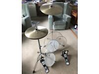Drum Kit Spares (hi-hat, crash, bass pedal and heads)