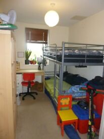 bunk bed,colour:metalic gray , Ikea make ,very good condition