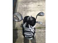 Callaway golf clubs - Ping golf bag