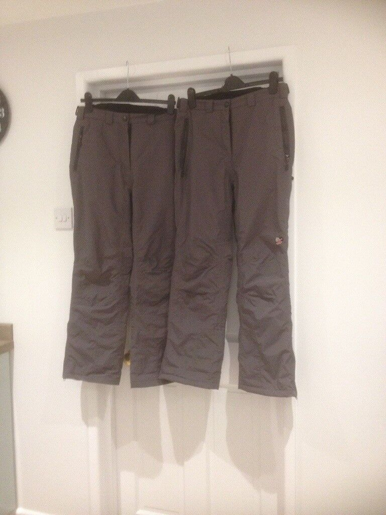Women's salapettes / skiing trousers size 16