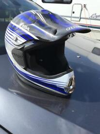 Xs motorbike / bmx helmet