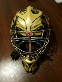 Ice hockey goalie mask helmet