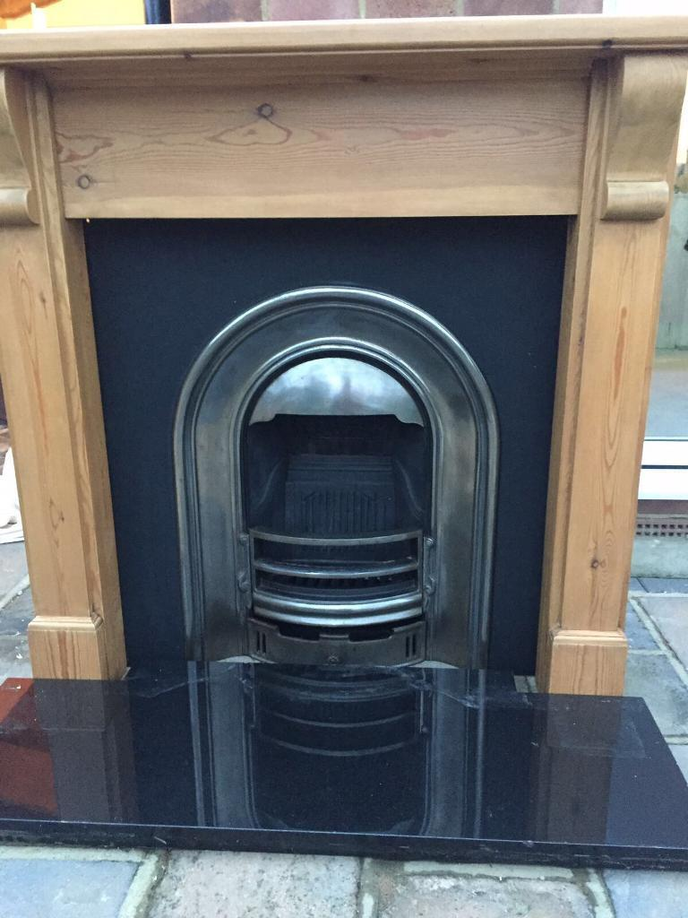 Fire ,surround and hearth