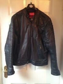 Men's leather Firetrap jacket
