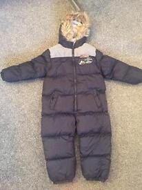 Brand new with tag snowsuit age 6/7