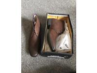 Men's brown smart shoes size 44 (9.5)