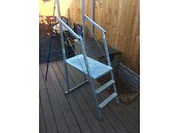 Portable Ladder Work Platform / Podium Painting