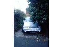 1997 Seat ALHAMBRA 1.9 TDI SE for spares or repairs open to offers