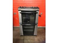 Zanussi electric cooker 55cm S/S double oven 3 months warranty free local delivery!!!!!!!!!!!