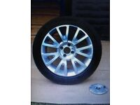 Genuine Renault Clio Mk3 2005/12 Canasta Alloy Wheel