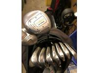 Hippo Irons 5-SW, Wood, Driver & Bag (Golf Clubs, Bag)