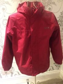 Regatta Coat in pink (excellent condition) aged 9-10 years great buy