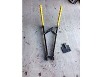 Towbar fitting cycle carrier