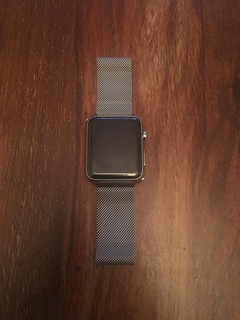 Apple Watch 42mm Series 1in Beeston, NottinghamshireGumtree - Apple Watch 42mm Series Excellent condition Also includes Apple Watch 42mm silver Silver Milanese Loop Strap Silver Strap Original Box Apple Watch Charger Instruction Manual Originally brought from directly from Apple Any questions please ask