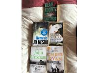 Bundle of 5 books.