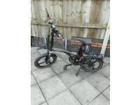 eco voltz electric folding bike