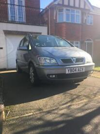 VAUXHALL ZAFIRA ELEGANCE DTI 16V DIESEL SILVER, repairs are needed. OFFERS CONSIDERED