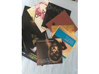 8 X House, electronic, jazz, techno and hip hop vinyl records