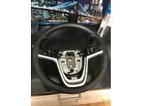 Astra J/ GTC leather steering wheel for sale  Elgin, Moray