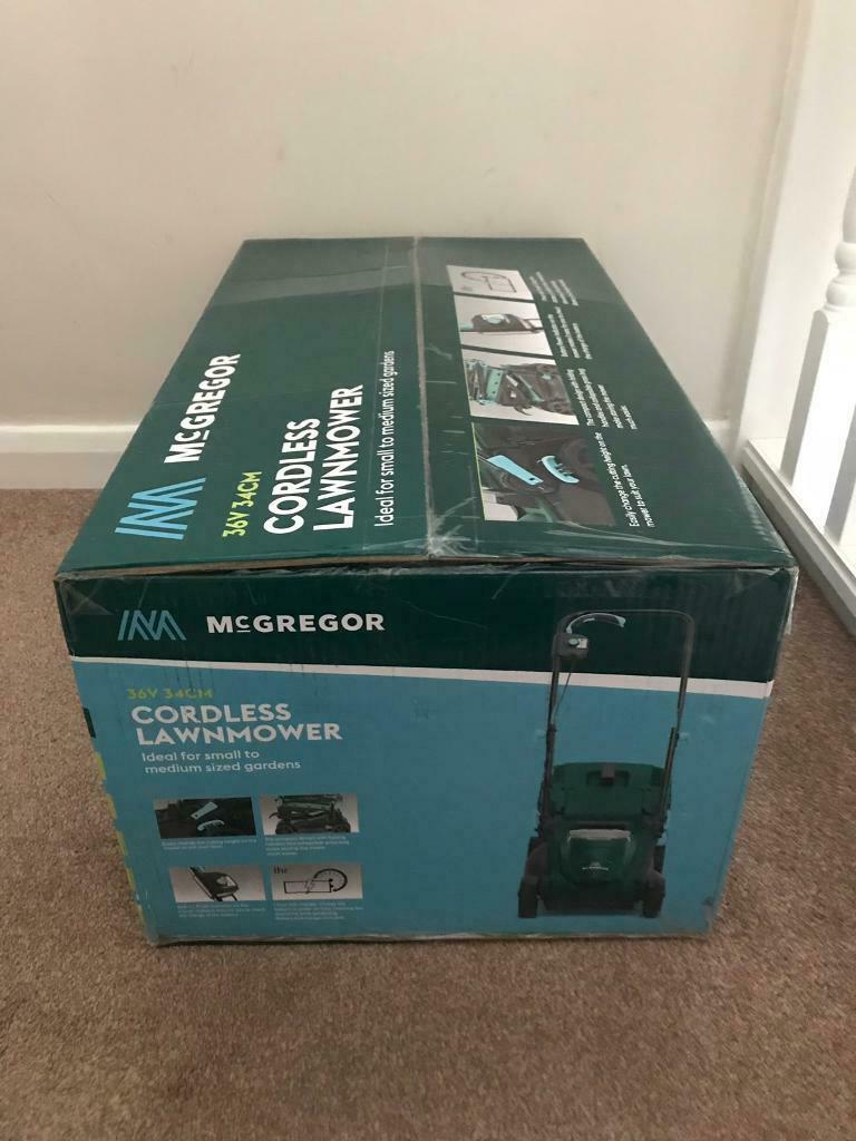 Argos Mcgregor 36v Cordless Lawnmower With Battery Charger In Harrogate North Yorkshire Gumtree
