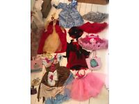 BIG BUNDLE DISNEY/TULLE DRESSING UP CLOTHES.AGE 4/5/6/7/8 £30**