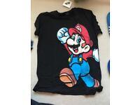 Super MARIO Tshirt & cap/hat