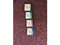 25 Nintendo DS Games with Pouch
