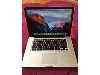 MacBook Pro 15.4'' 2010 320GB storage 4GB RAM