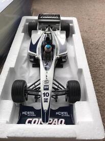 Jenson Button 1/18 diecast model.