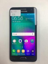 Samsung galaxy A3 unlocked 16gb
