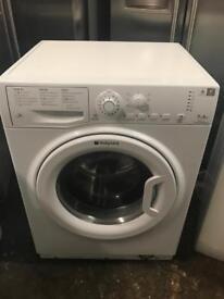 Hot point white washing machine 7kg