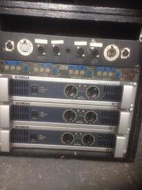 Yamaha P3500S Amplifier - 2000W