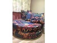 Round sofa - immaculate condition