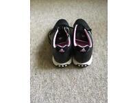 Adidas Ladies Black Golf Shoes Size 7