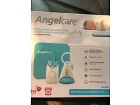 Angel care baby monitor with breathing sensor