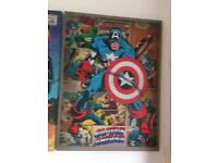 Marvel heroes large canvas pictures