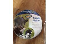Shade maker for buggy