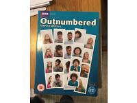 Outnumbered DVD series 1-4 boxset