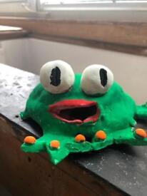 Designer Frog Piggy Bank