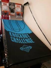 Indoor/outdoor basketball