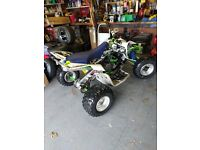 Suzuki ltr 450 road legal taxed and moted. Full service