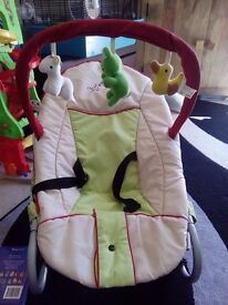 Hauck baby bouncer chair