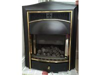 Inset Coal Effect Gas Fire with Real Flames