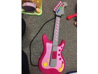 SOLD! chad valley guitar kids toy rockstar