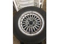 "BMW E21 alloys wheels 4x100 13"""