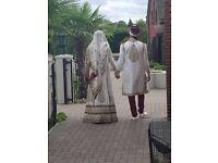 Asian men's wedding clothing