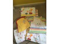 Circus Bumper Nursery Set