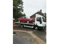 24/7 CAR VAN RECOVERY TOW TRUCK TOWING SERVICE ON M25 M11 M1 VEHICLE BREAKDOWN TRAILER TRANSPORT